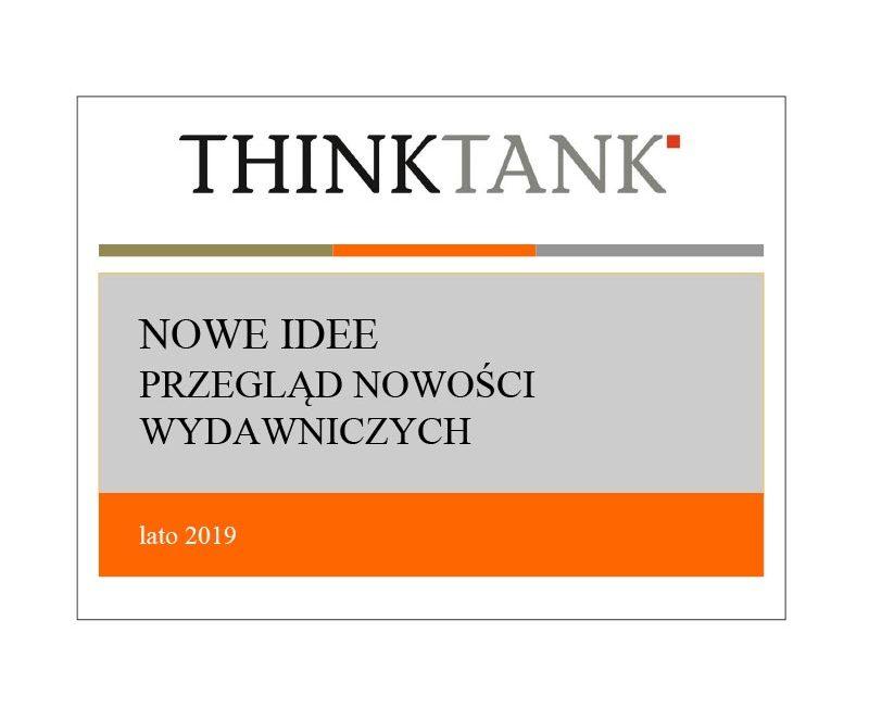 Przegląd książek THINKTANK – lato 2019