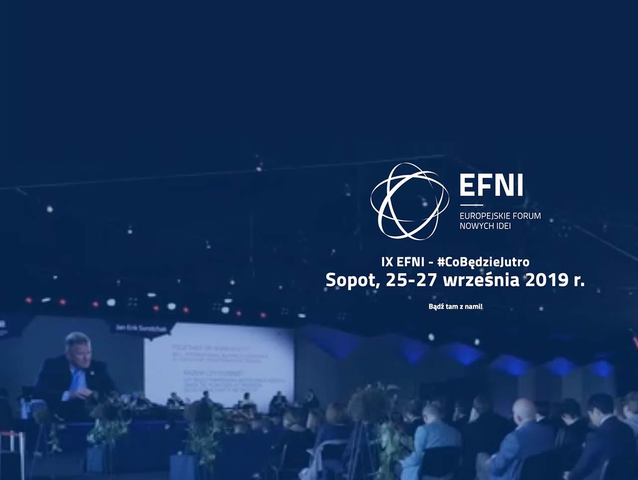 """Europejskie Forum Nowych Idei """"Co będzie jutro? Jaka demokracja, jaki rynek, jaka Europa?"""