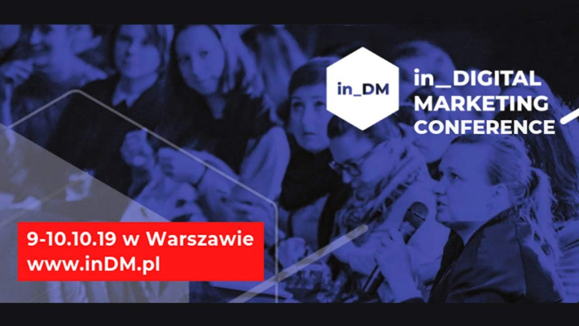 Konferencja in_Digital Marketing 2019