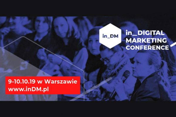 Konferencja in_Digital Marketing 2019