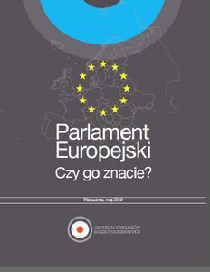Parlament Europejski: Czy go znacie?