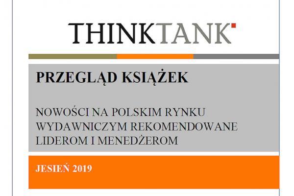 Przegląd książek THINKTANK – jesień 2019