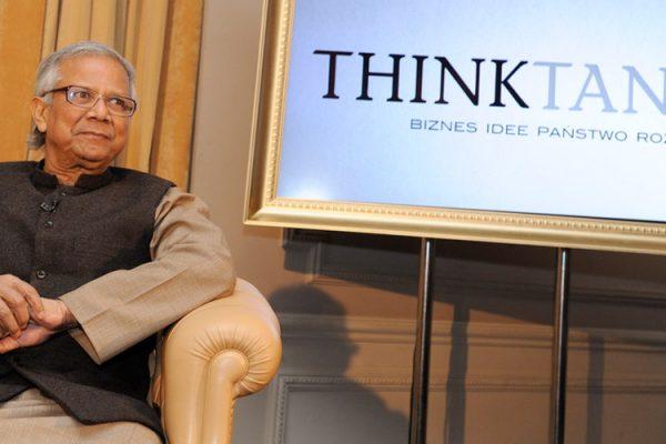 Muhammad Yunus wzywa w THINKTANK do dekoncentracji bogactwa