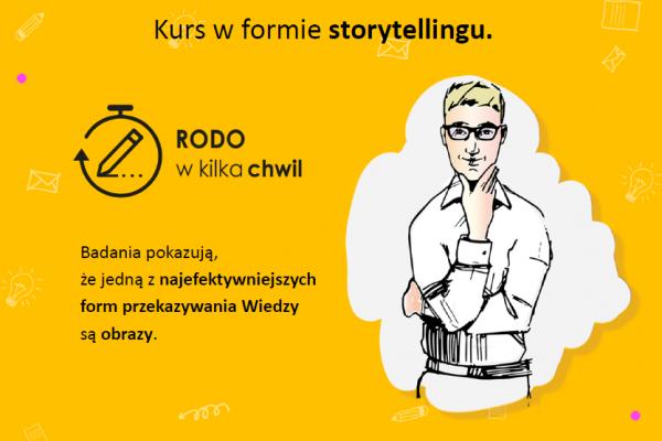 Kurs RODO w formie storytellingu