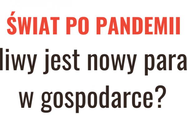 THINKTANK LIVE TALKS: Pandemia i jej skutki