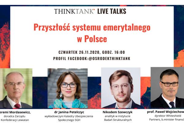 Przyszłość systemu emerytalnego w Polsce