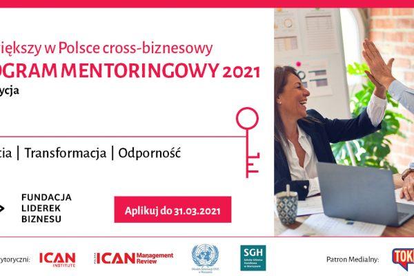 Rusza największy w Polsce cross-biznesowy PROGRAM MENTORINGOWY Fundacji Liderek Biznesu