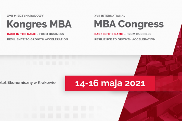 XVII Międzynarodowy Kongres MBA